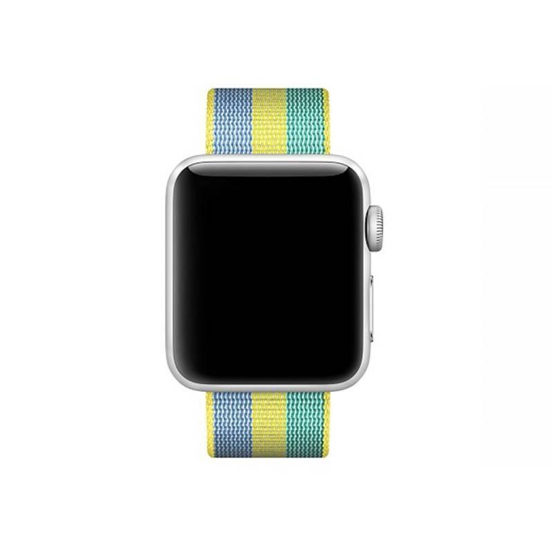 Bracelet Nylon pour Apple Watch - Fermeture par Boucle - Vert