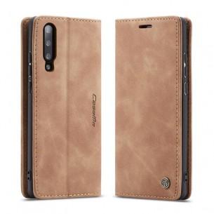 Xiaomi Mi9 - Étui Portefeuille CaseMe - Imitation Daim - Pochettes CB