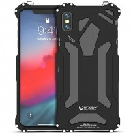 IPhone XS Max - Coque Anti-Choc R-JUST GUMDAM - Etanche IP54