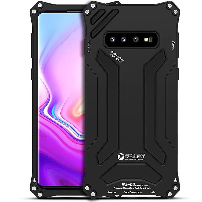 Galaxy S10 Plus - Coque Anti-Choc R-JUST GUNDAM - Etanche IP54