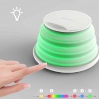 Chargeur Qi MOMAX Q.Led 5/7,5/10W avec Lampe LED Couleur Télescopique Intégrée