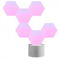 Système LED WiFi LIFESMART Cololight - Socle avec 6 Éléments