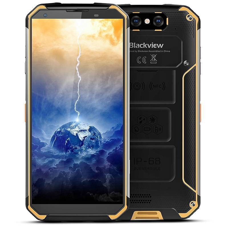 Smartphone 4G TriProof BLACKVIEW BV9500 Plus Écran 5,7' FHD OctaCore Ram 4GB Rom 64GB WiFi Bluetooth NFC Batterie 10000mAh