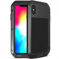 iPhone XS Max - Coque LOVEMEI Powerful - Anti-choc - Anti-Poussière - Etanche Projection d'Eau