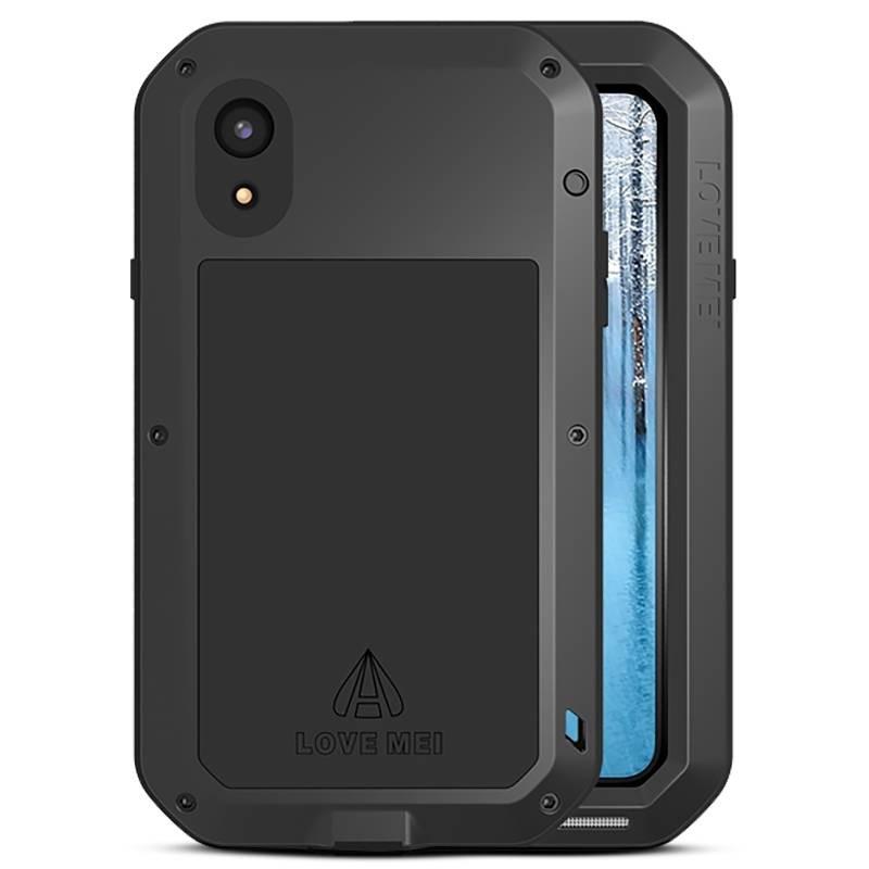 iPhone XR - Coque LOVEMEI Powerful - Anti-choc - Anti-Poussière - Etanche Projection d'Eau