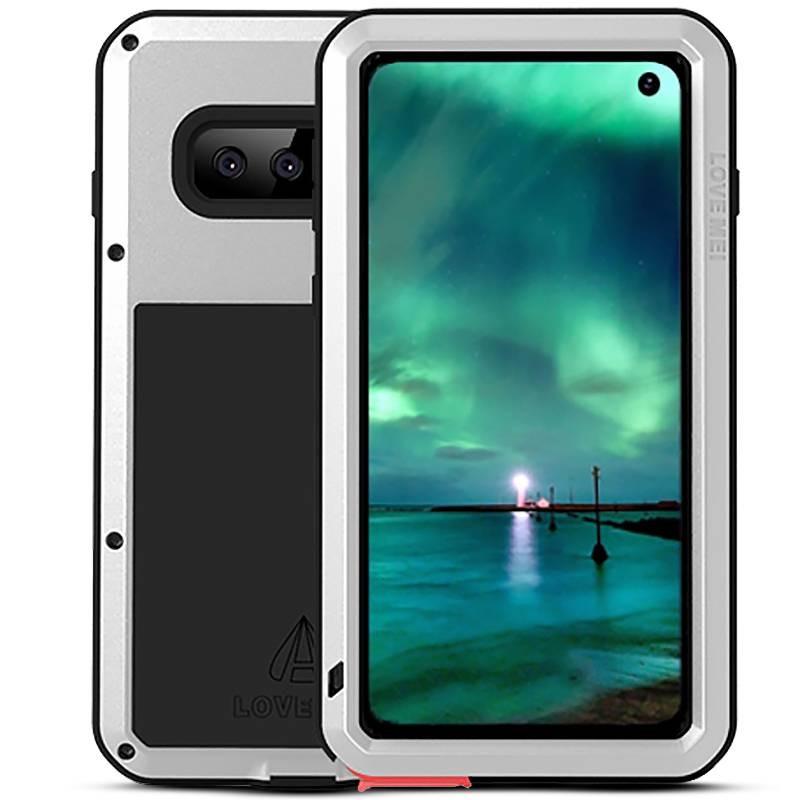 Galaxy S10 - Coque LOVEMEI Powerful - Anti-choc - Anti-Poussière - Etanche Projection d'Eau
