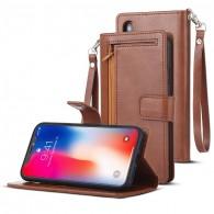iPhone XR - Étui Portefeuille M. GOOSPERY - 5 Pochettes & Coque Détachable