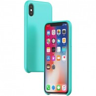 iPhone XS Max - Coque BASEUS Silicone Liquid Series