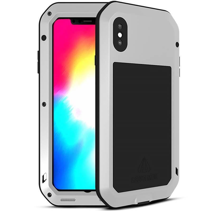 iPhone X & XS - Coque LOVEMEI Powerful - Anti-choc - Anti-Poussière - Etanche Projection d'Eau
