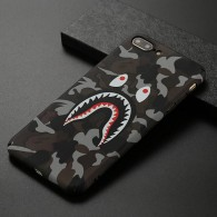 iPhone 7 Plus & 8 Plus - Coque avec Motif Monstre Phosphorescent