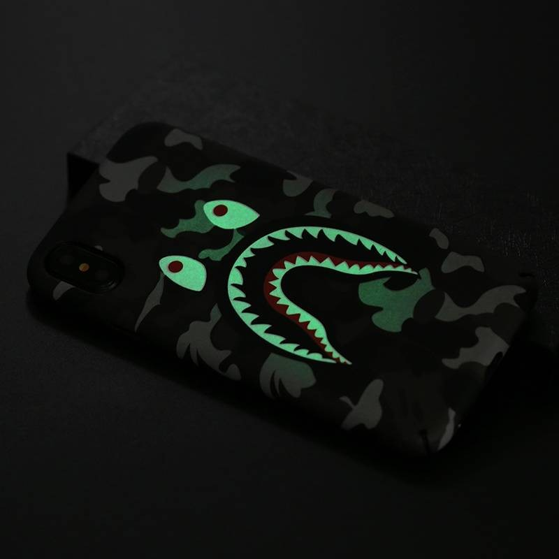 iPhone XS Max - Coque avec Motif Monstre Phosphorescent