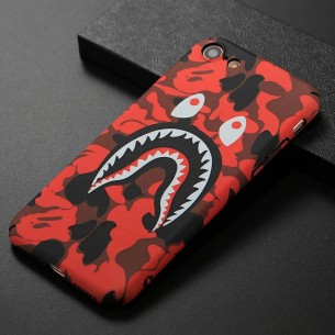 iPhone 7 & 8 - Coque avec Motif Monstre Phosphorescent