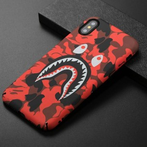 iPhone X & XS - Coque avec Motif Monstre Phosphorescent