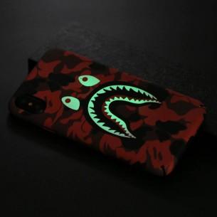 iPhone X & XS - Coque avec Motif Monstre Phosphorescent