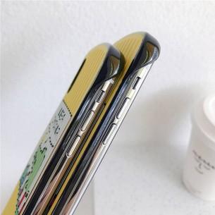 """iPhone XS Max - Coque Anneau Dragonne Motif """"Crocodile"""""""