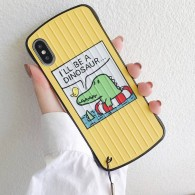 "iPhone X & XS - Coque Anneau Dragonne Motif ""Crocodile"""