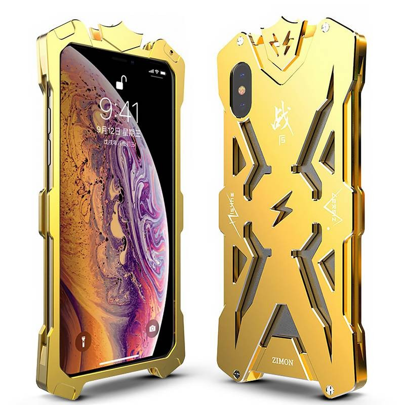 IPhone XS Max - Coque ZIMON Thor en Alliage d'Aluminium