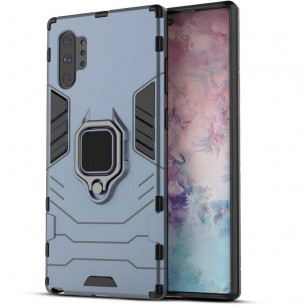 Galaxy Note 10 Plus - Coque Chevalet - Contour Silicone TPU