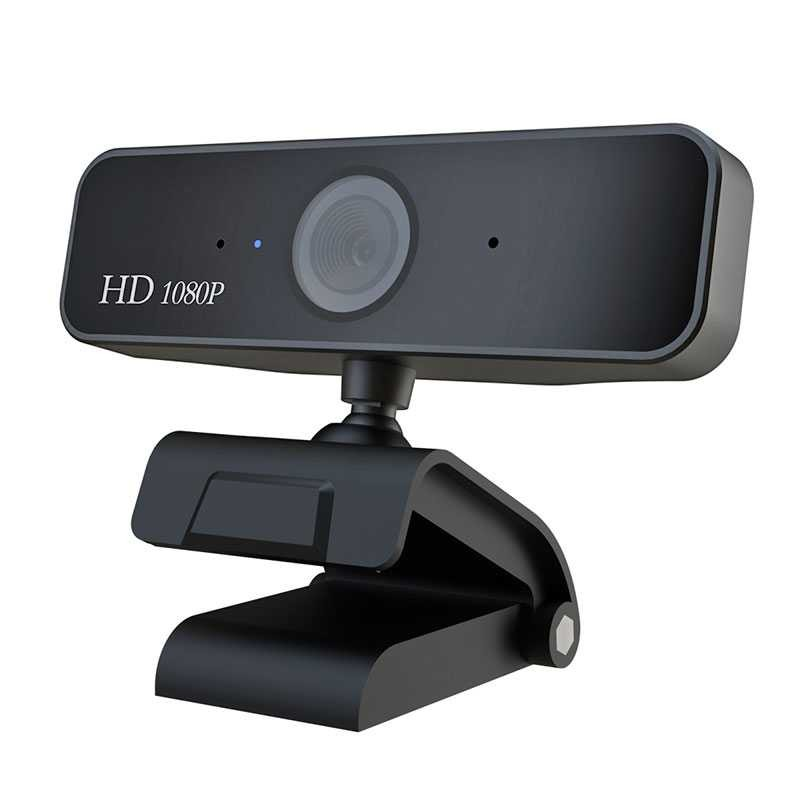 Webcam HXSJ S1 Full HD 1080P - Autofocus - Micro Intégré - Compatible PC Windows | Mac | Android TV