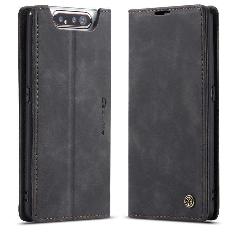 Galaxy A80 - Étui Portefeuille CaseMe - Pochettes CB - Inclinable