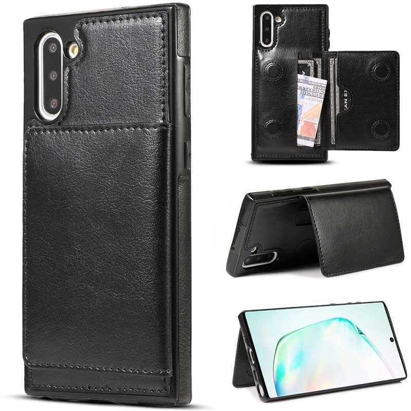 Galaxy Note 10 - Coque avec Pochette CB  Intégrée