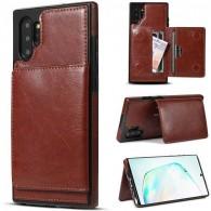 Galaxy Note 10 Plus - Coque avec Pochette CB  Intégrée