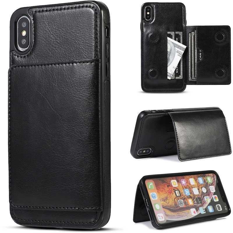 iPhone X & XS - Coque avec Pochette CB  Intégrée