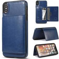 iPhone XS Max - Coque avec Pochette CB  Intégrée