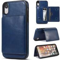iPhone XR - Coque avec Pochette CB  Intégrée