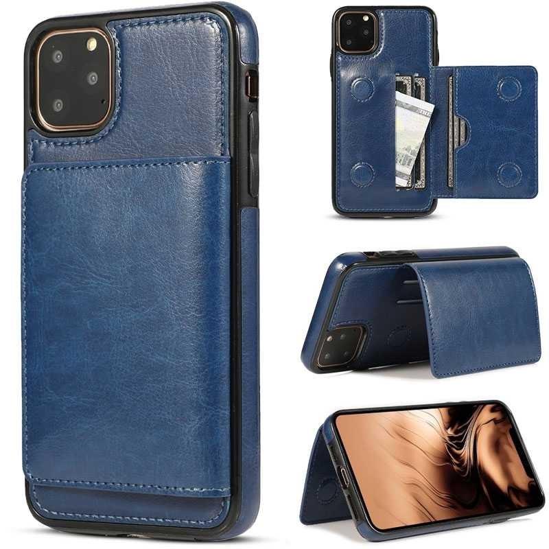 iPhone 11 Pro Max - Coque avec Pochette CB  Intégrée