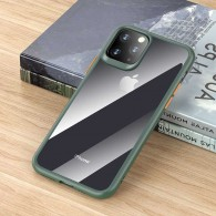 iPhone 11 Pro - Coque ROCK Guard Pro Series - Double Protection TPU + TPE - Translucide