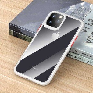 iPhone 11 - Coque ROCK Guard Pro Series - Double Protection TPU + TPE - Translucide