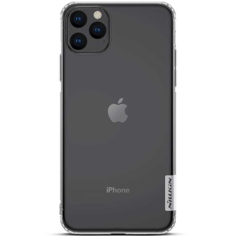 """iPhone 11 Pro Max - Coque TPU NILLKIN """"Nature"""" Transparente"""