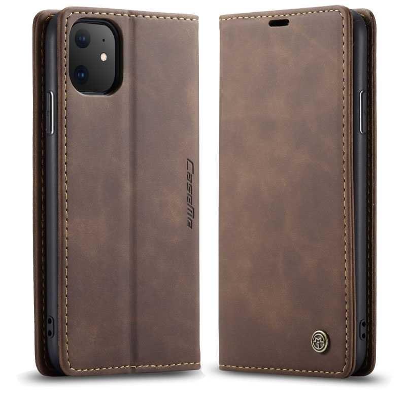 iPhone 11 - Étui Portefeuille CaseMe avec Pochettes CB