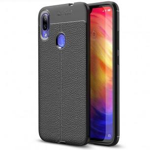 Redmi Note 7 & 7 Pro - Coque Silicone Texture Litchi