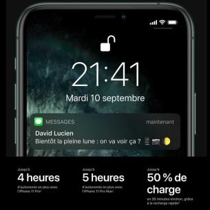 APPLE iPhone 11 Pro Max - Version Double Nano SIM - ROM 64GB / 256GB / 512GB