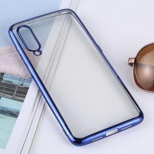 Xiaomi Mi9 - Coque Transparente Contour Couleur - TPU Souple