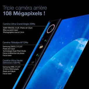 XIAOMI Mi Mix Alpha - Écran OLED Flexible 7,92' UHD OctaCore 2,96Ghz RAM 12GB ROM 512GB - Triple Cam Arrière 108 Megapixels