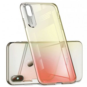 iPhone XR - Coque ROCK Gradient Series - Dégradé Translucide