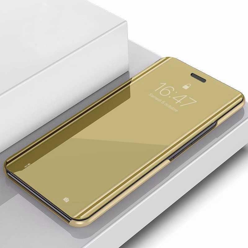 iPhone 11 Pro Max - Étui Flip Cover Miroir
