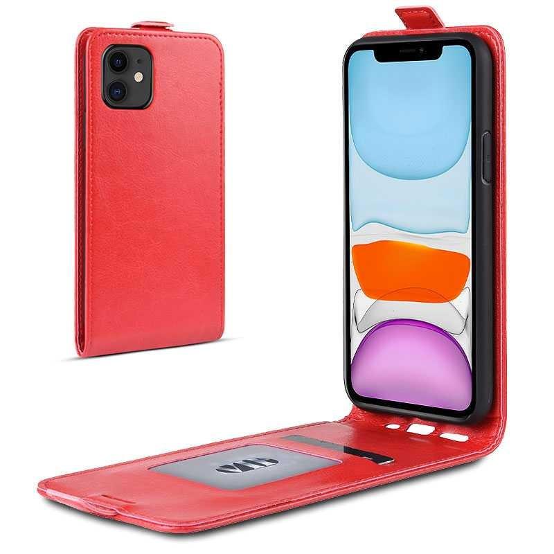 iPhone 11 - Étui Vertical avec Pochette CB