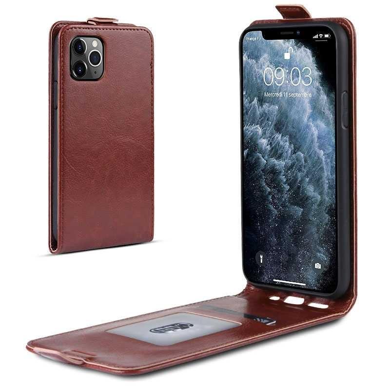 iPhone 11 Pro - Étui Vertical avec Pochette CB