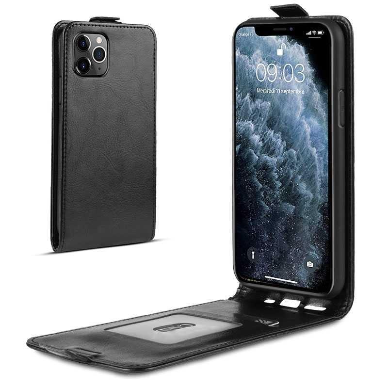 iPhone 11 Pro Max - Étui Vertical avec Pochette CB