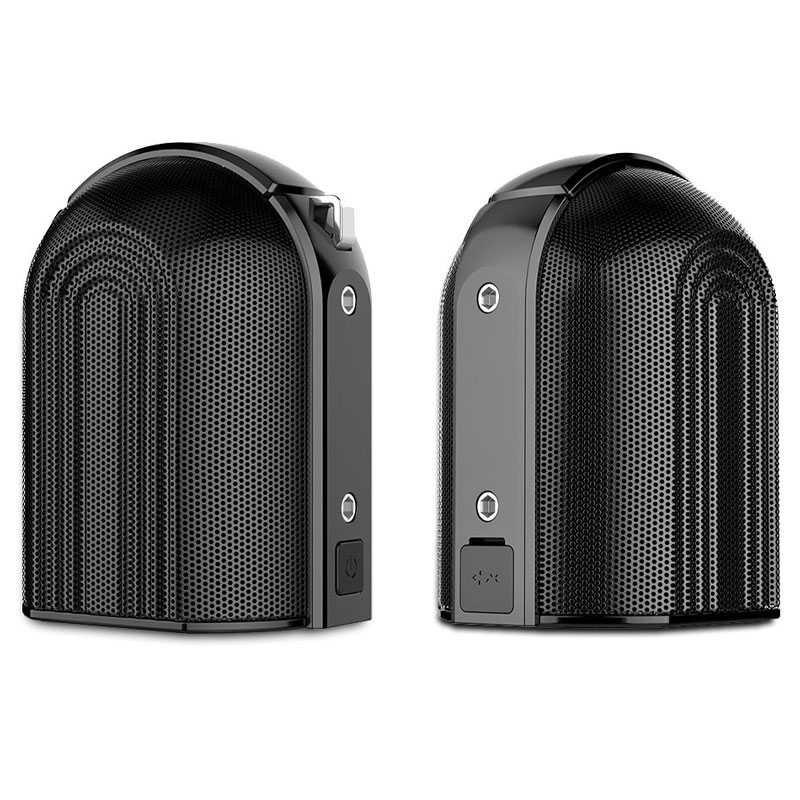 Enceintes Bluetooth OVEVO D20 - Écoute Stéréo ou Mono - Fixation Magnétique - 2 X 10W - Étanche iPX5