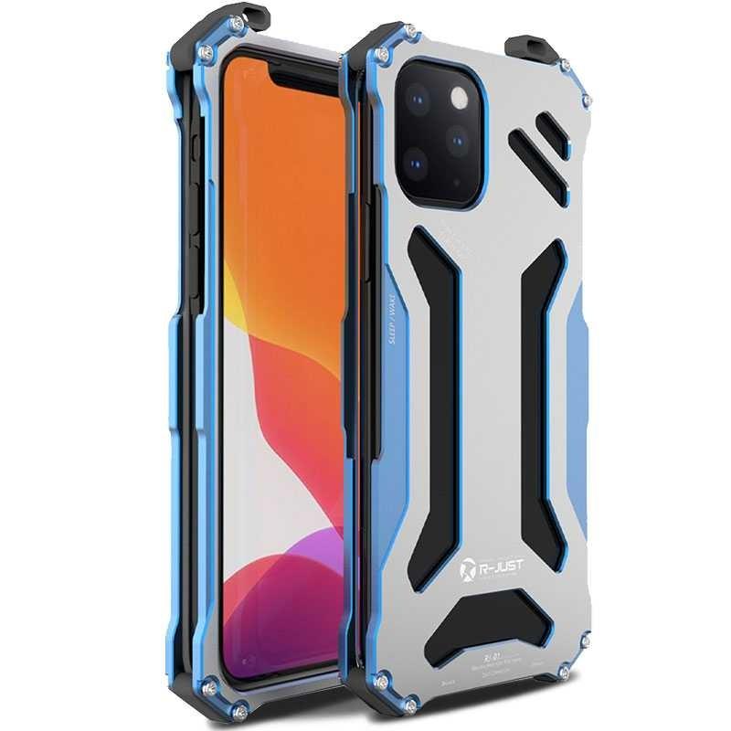 iPhone 11 Pro Max - Coque Anti-Choc R-JUST Armor RJ-01