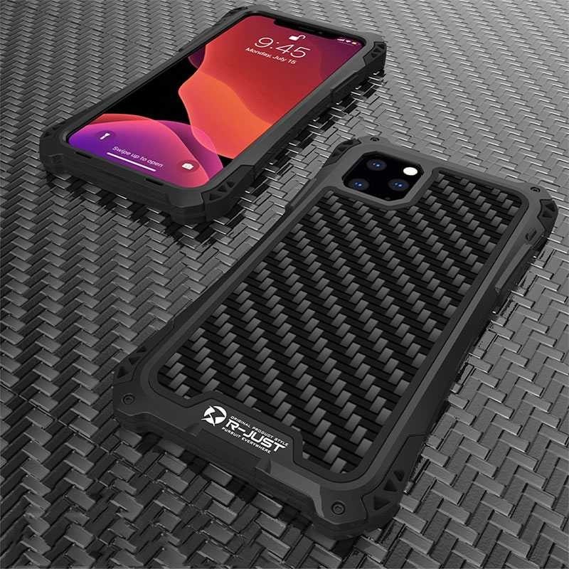 Coque iPhone 11 PRO MAX Antichoc Design Verre trempé