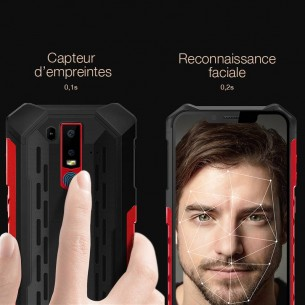 ULEFONE Armor 6 - Écran 6,2' Full HD+ OctaCore Ram 6GB Rom 128GB WiFi Bluetooth NFC Dual Cam Face ID