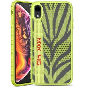 iPhone XR - Coque IPAKY Yeezy Series - Revêtement Tricot Motif Zèbré