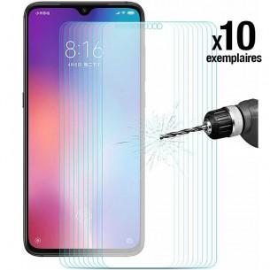 Xiaomi Mi9 - Pack ENKAY 10 Protections d'Écran En Verre Trempé 9H 2.5D Bords Incurvés