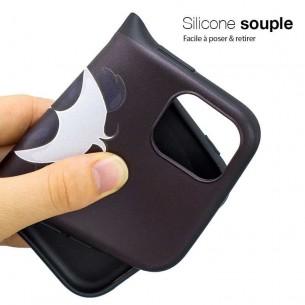 iPhone 11 - Coque Silicone avec Motif Panda